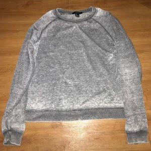 Acid washed forever 21 sweatshirt